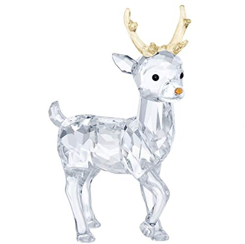5400072Cristalli Swarovski Babbo Natale, Renna Decorazione Figurine