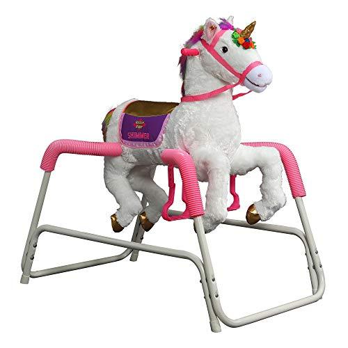 Rockin' Rider Shimmer Spring Unicorn
