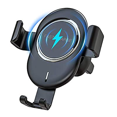 Wireless Car Charger Mount, Maxuni Automatic Cl...