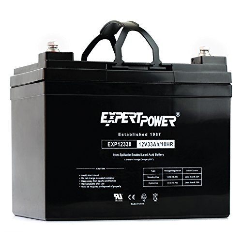 ExpertPower 12v 33ah Rechargeable Deep Cycle Battery [EXP1233 ]