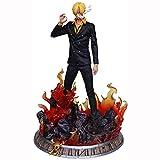LCFF Figura Anime Figure One Pieza Figura de acción Grande Vinsmoke Sanji 38cm Estatuilla Colección Estatua Decoración Niños Juguetes Doll Regalo (Color : Vinsmokesanji)