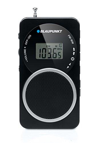 Oferta de Blaupunkt BD-20 - Radio portátil (250 W RMS, 1.5 V, pantalla LCD, control de volumen, FM/MW), negro