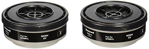 North N75001 Organic Vapor OV Cartridge 2 Each per Pack