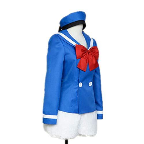 LOTOTLOMCA Donald Duck Party Kostüm Cosplay Anime Kostüm Cosplay Anime Kostüm Schuluniform, Polyesterfaser Stoff Ist Bequem Und Hautfreundlich, Einschließlich Zylinder + Hut + Shorts,XL
