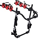 Automotive 3 Bicycle Rear Mount Carrier Car Rack Bike Cycle,Bikes Bicycle Carrier Racks,Trunk