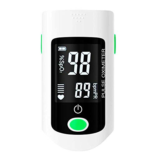 XYCSM Oxímetro de Pulso,Monitor de Tasa de Pulso de Spo2, Sensor de...