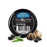 Ajo negro orgánico en pasta: vegano, fermentado, de alta dosis, certificado natural, ajo negro ecológico fermentado, hecho en Escandinavia
