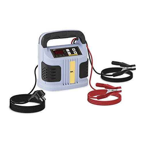MSW Autobatterie Ladegerät Kfz Batterieladegerät S-CHARGER-50A.2 (6/12/24 V Ladespannung, 30 A Ladestrom, 20-300 Ah, 750 W, LED-Display, 5 Funktionsanzeigen)