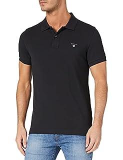 GANT Men's Original Slim Pique SS Rugger Polo Shirt, Black, XS (B076Q86S1T)   Amazon price tracker / tracking, Amazon price history charts, Amazon price watches, Amazon price drop alerts
