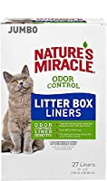 Nature's Miracle Odor Control Jumbo Litter Box Liners, 27 Count by Nature's Miracle