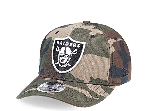 New Era Oakland Raiders All About Camo Edition 9Fifty Stretch Snapback Cap - NFL Kappe