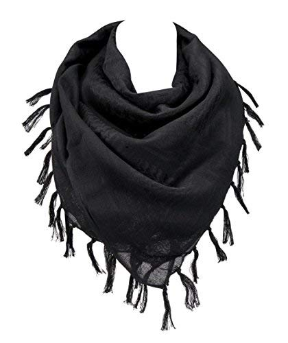 """Military Shemagh Arab Tactical Desert Keffiyeh Thickened Scarf Wrap for Women and Men 43""""x43"""""""