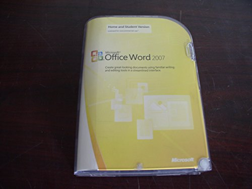 Microsoft Word 2007 Home and Student Edition (PC) [import anglais]