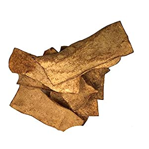 Rawhide Chips Smoked Flavor | 100% Natural Dog Treats Delicious Treats (2 Pounds)