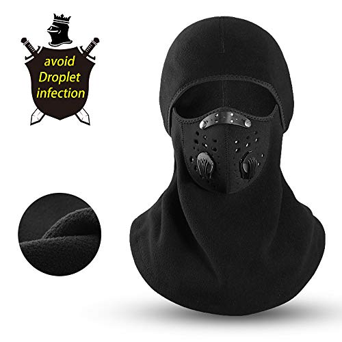WJH9 Face Shield Protection Best Men, Outdoor Sports Dustproof Safe Full Face Guard Anti Fog Special Forces Camouflage Bandit Mask Counter Terrorism Tactical Headgear