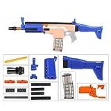 JGCWorker Mod Kits Set for Nerf N-Strike Elite Stryfe Modulus Attachment FN Scar Model (Blue)