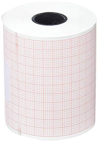Rollo de papel térmico ECG para Cardioline Delta 1/3 Plus, 60 mm x 30 m, juego de 4 unidades