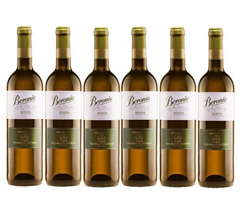 Beronia Verdejo - Vino D.O. Rueda - 6 Botellas x 750 ml - Total : 4500 ml
