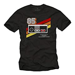 Gamer T-Shirt Hombre - Vintage Game Controller - Camiseta Friki