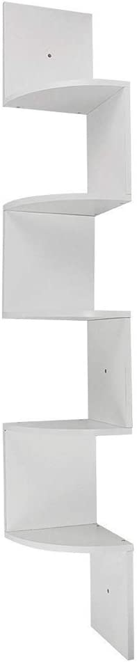 5 Tier Home Decor Wall Mount Shelf Corner Ranking TOP18 for Floating Fixed price sale Li Square