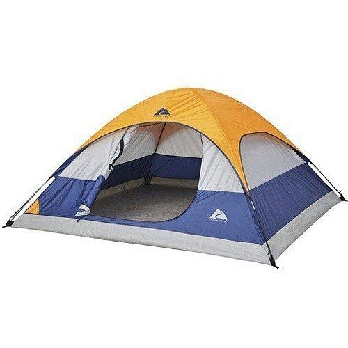 UltraZon Picnic Camping Portable Waterproof Tent for 4 Person (Multicolour)