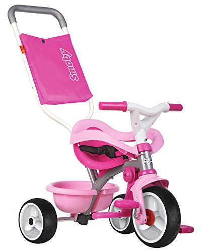 Smoby-Triciclo Be Move Confort, color rosa, (740404)