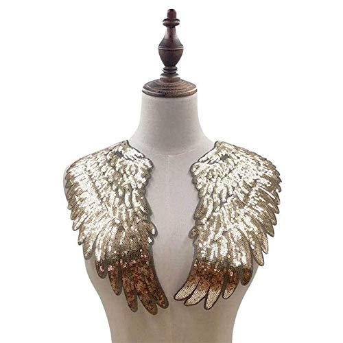 3D holle Venise kant stof jurk applicatie motief blouse naaien boord DIY kanten kraag naaien handwerk hals decor scrapbooking goud
