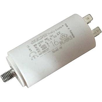 //-5/% 450V A COSSES NORME EN60252-1 CONDENSATEUR POUR MOTEUR ELECTRIQUE 16μF uF