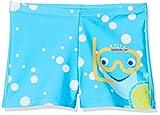 Speedo Inserto con Tommy Turtle Pantalón De Baño (Aquashort), Niños, Turquesa/Amarillo Brillante/Azul Marino, 6YRS