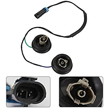 HIMIKI Knock Sensor with Harness 12601822 12589867 Compatible with Chevy GMC Cadillac Yukon Tahoe Sierra Silverado Suburban Express 1500 2500 3500 Camaro Corvette Escalade