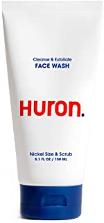 Sponsored Ad - Huron - Men's Daily Face Wash. Creamy cleanser with natural exfoliants gently clears away dirt, oil and pol...