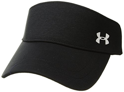 Under Armour Women's Renegade Visor, Black (001)/White, One Size Fits All