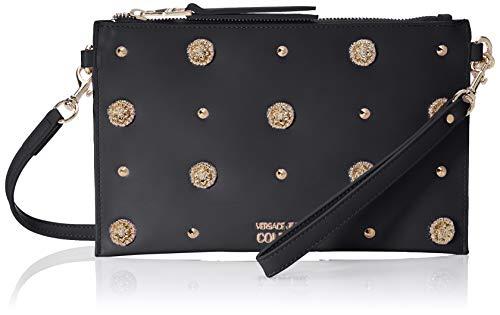 Versace Jeans Couture Damen Wallet Geldbörse, Schwarz (Nero), 0,5x16x25,5 centimeters