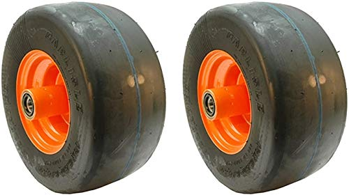 "Flat Free Set of 2 Fit's Some Scag mowers Wild Cat, Turf Tiger, Saber Tooth, Tiger Cub, Zero Turn 52"" 61"" 72"" Decks with 13x6.50-6 Tires 9278 482504 483050"
