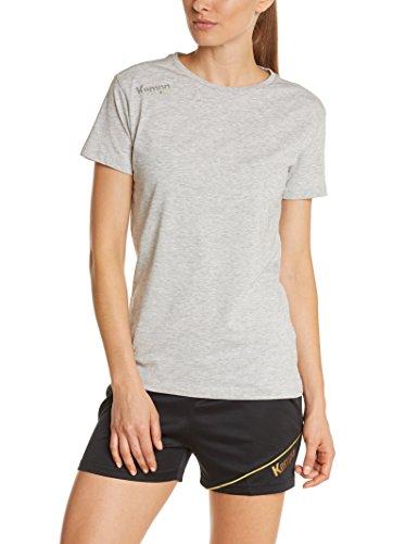 Kempa Damen T-Shirt Core, Grau Mélange, XS