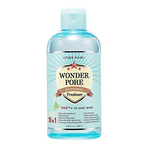 Etude House Wonder Pore Freshener 250ml - Latest Version (10 in 1 Ultra Pore Solution) by ETUDE HOUSE
