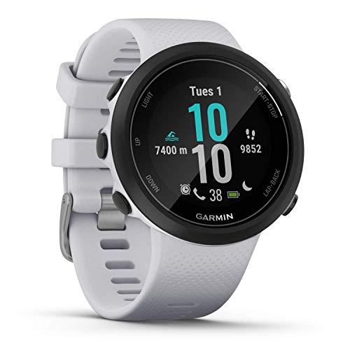 Garmin Swim 2- Reloj inteligente, color blanco
