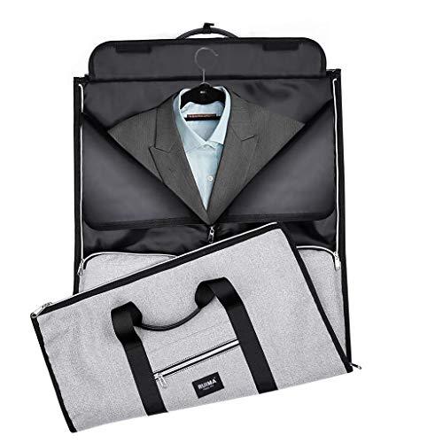 Koojawind Reisetasche, Reisetasche Mit GroßEm FassungsvermöGen Reisetaschen Duffle-Taschen ÜBernachtung/Weekender-Tasche FüR MäNner Und Frauen, Zwei-In-One-Kleidersack
