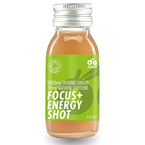 OG juice Focus + Energy Shots Cold Pressed Boost Pack 8 X 60ml boosts, Booster Pack Boost Box Fruit Juice Healthy Health Benefits Energy Booster Health Supplement Healthy Eating Drink
