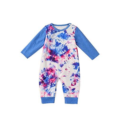 FYMNSI - Body de una pieza para recién nacido, para bebés y niñas, para bebés de 0 a 18 meses Azul azul 6 mes