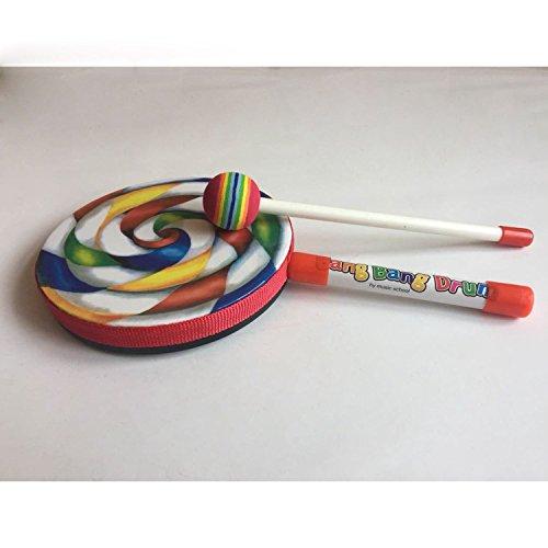 """Cuasting Kids Percussion Lollipop Drum, 6"""""""