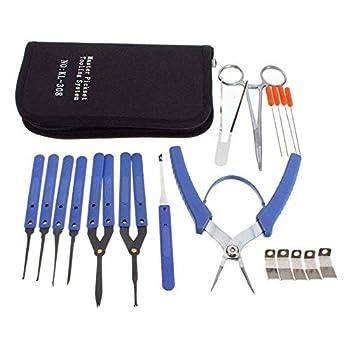 Les serruriers professionnels ont besoin d'une grande variété d'outils et d'accessoires pour stocker leurs boîtes à outils et faciliter les travaux Kit parfait et de haute qualité pour la maison et la serrurerie L'utilisation quotidienne de nos clés ...