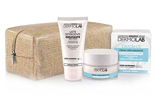 DERMOLAB BEAUTY BOX ULTRAIDRATANTE CREMA VISO ML.50 + LATTE DETERGENTE ML.50