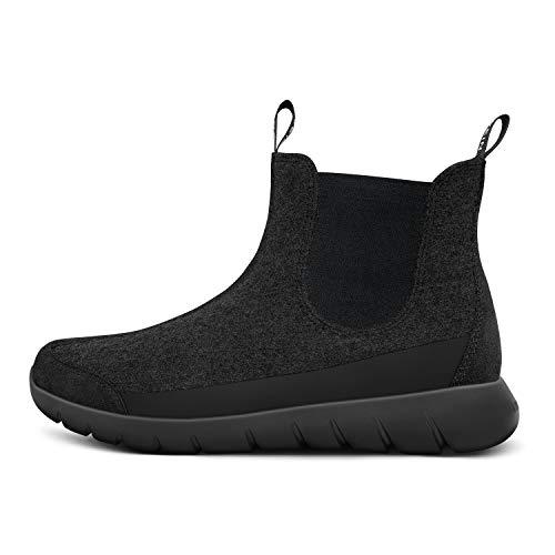 GIESSWEIN Merino Wool Boot - Atmungsaktive Chelsea-Boots für Damen aus 100% Merino Wolle, Leichte Stiefelette, Freizeitschuh, Damenschuhe, Frauenschuhe