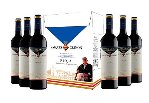 Caja de Marqués de Griñón D.O. Rioja Selecc. Especial Reserva - 6 botellas x 750 ml