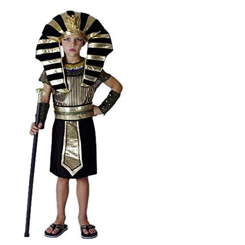 thematys Pharao Ägypten Kostüm-Set für Kinder - perfekt für Fasching, Karneval & Cosplay - Verschiedene Größen (XL)