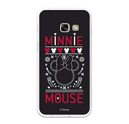 La casa delle Cover Cover Ufficiale Disney Minnie, Nero Ricamato Samsung Galaxy A32017