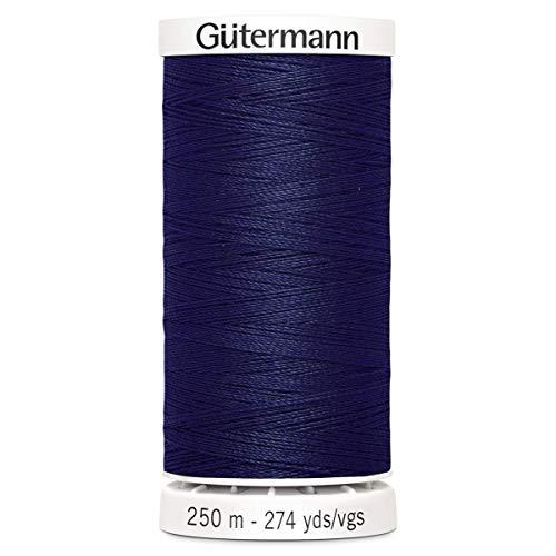 Gutermann Coudre Tous Les Fil de Polyester, 250 Mtr, Bleu Marine (0310),