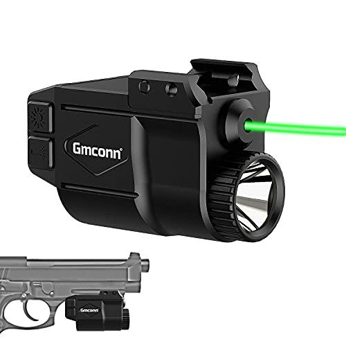 Gmconn Tactical Gun Light and Green Laser Sight...