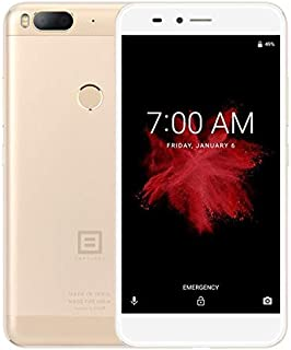 LIJINGFANG Dual Back Cameras, Fingerprint Identification, 5.5 inch Android 7.1.2 Qualcomm MSM8953 Snapdragon 625 Octa Core up to 2.0GHz, Network: 4G (Color : Gold)